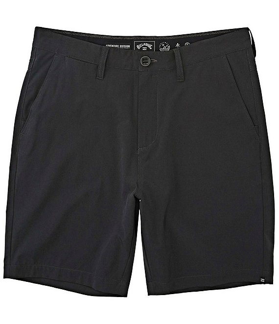 Color:Charcoal Heather - Image 1 - Surftrek Wick 20#double; Outseam Adventure Division Walk Shorts