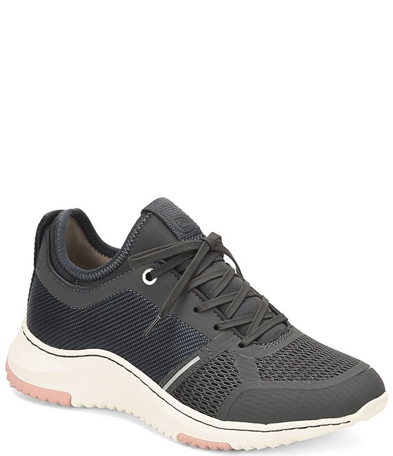 Color:Denim - Image 1 - Orbit III Collection Oakler Mesh Sneakers