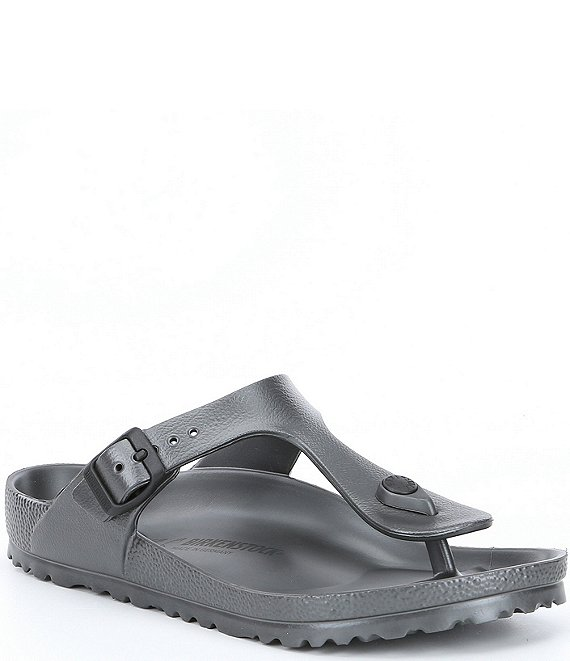 Color:Gray - Image 1 - Gizeh EVA Waterproof Essentials Thong Sandals