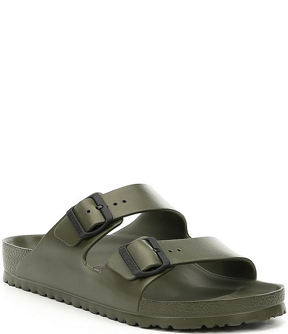 Color:Green - Image 1 - Men's Arizona Eva Slip-Ons