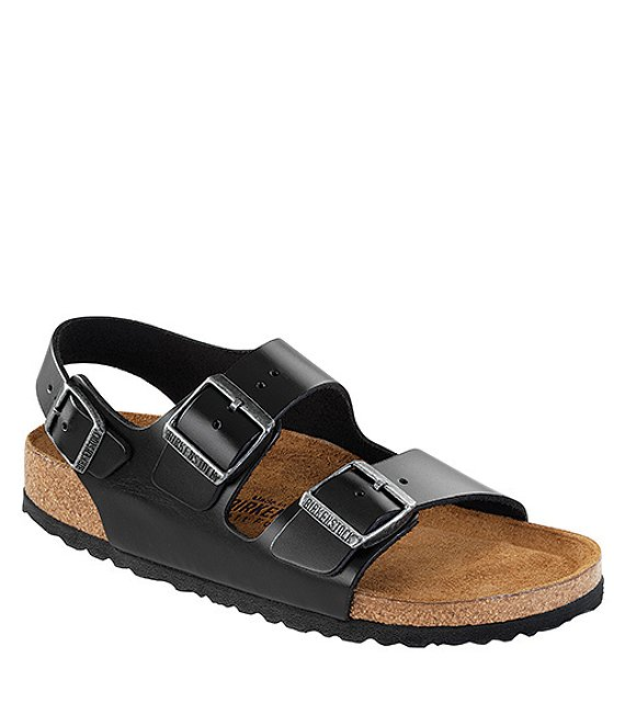 b95746d0b248 Birkenstock Men s Milano Leather Double Banded Slingback Sandals ...