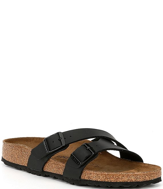 Color:Black - Image 1 - Women's Yao Birko-Flor Slide Sandals