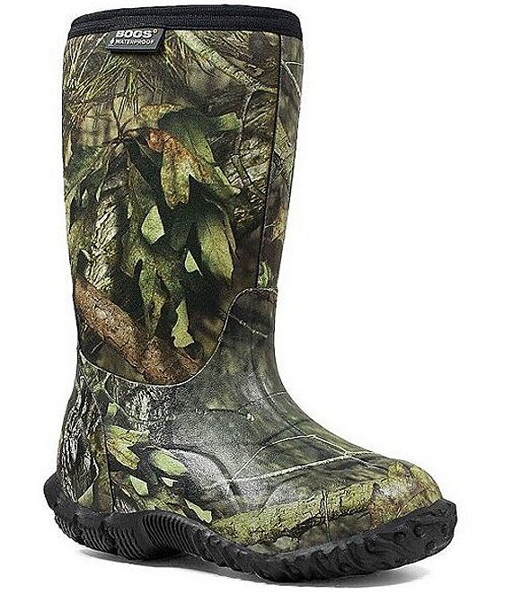BOGS Boys' Classic Mossy Oak Waterproof Winter Boots (Youth)