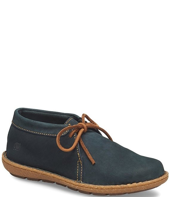 Color:Sailor Blue - Image 1 - Nuala Suede Leather Ankle Booties