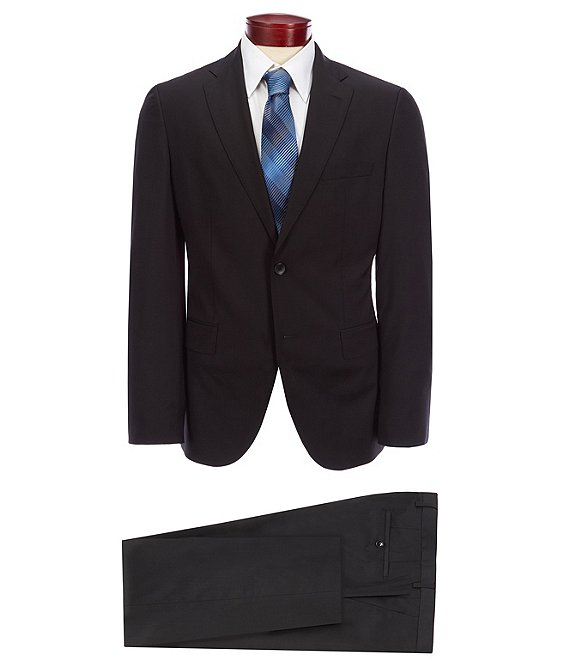 9190a1233 BOSS Hugo Boss Johnstons/Lenon Solid Wool Suit | Dillard's