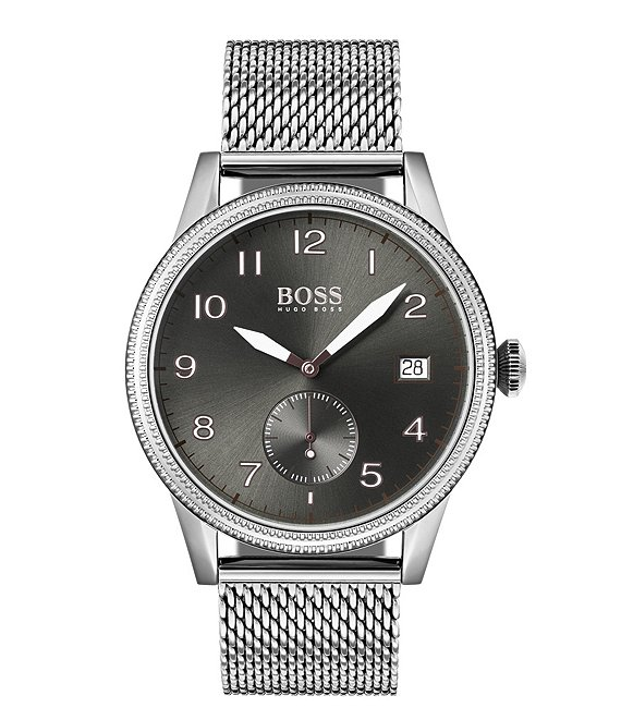 Color:Silver - Image 1 - BOSS Hugo Boss Legacy Watch