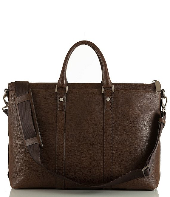 Color:Cocoa Brown - Image 1 - Beckett Manchester Business Tote