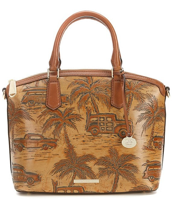 BRAHMIN Copa Cabana Collection Duxbury Domed Satchel