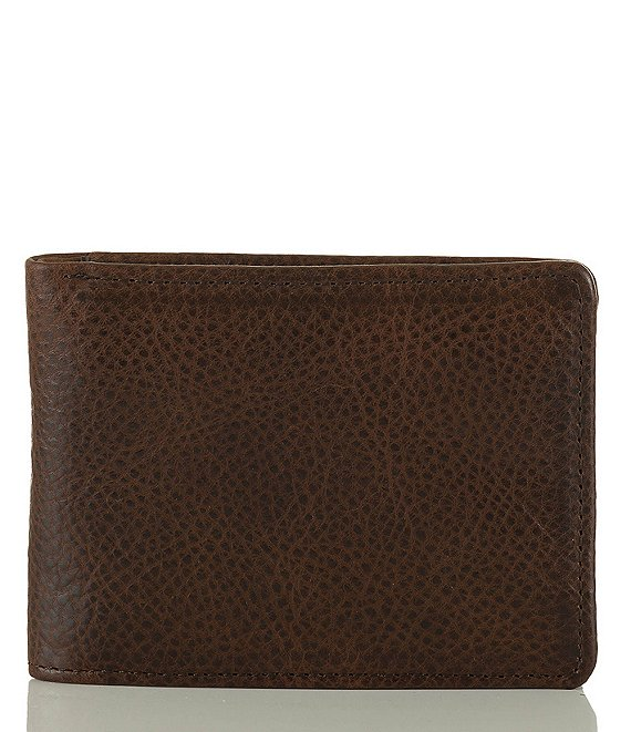 Color:Cocoa Brown - Image 1 - Manchester Smooth Billfold Wallet