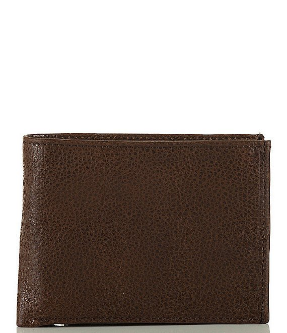 Color:cocoa brown - Image 1 - Manchester Smooth Slimfold Wallet