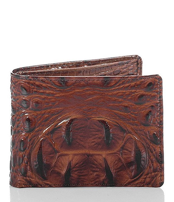 Color:Pecan - Image 1 - Melbourne Billfold Wallet