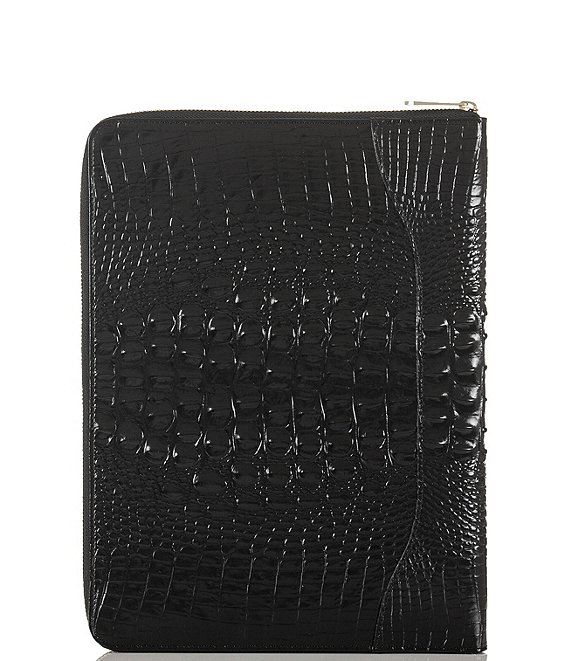 Color:Black - Image 1 - Melbourne Collection Dartmouth Leather Portfolio
