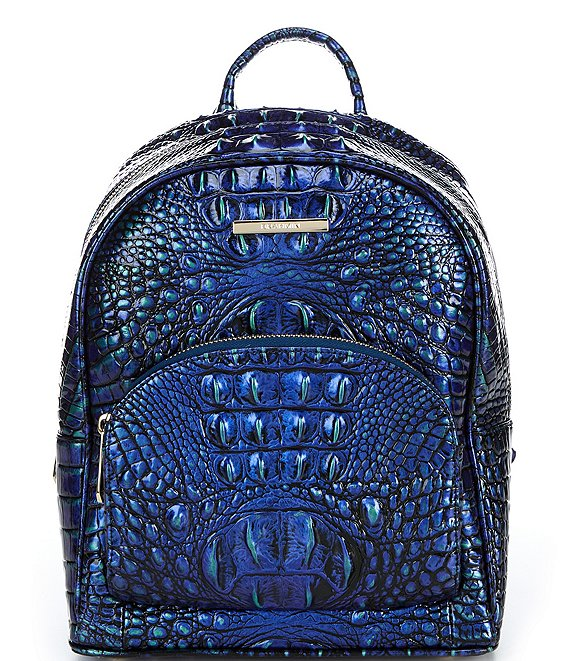 Color:Mirage - Image 1 - Melbourne Collection Mini Dartmouth Crocodile-Embossed Backpack