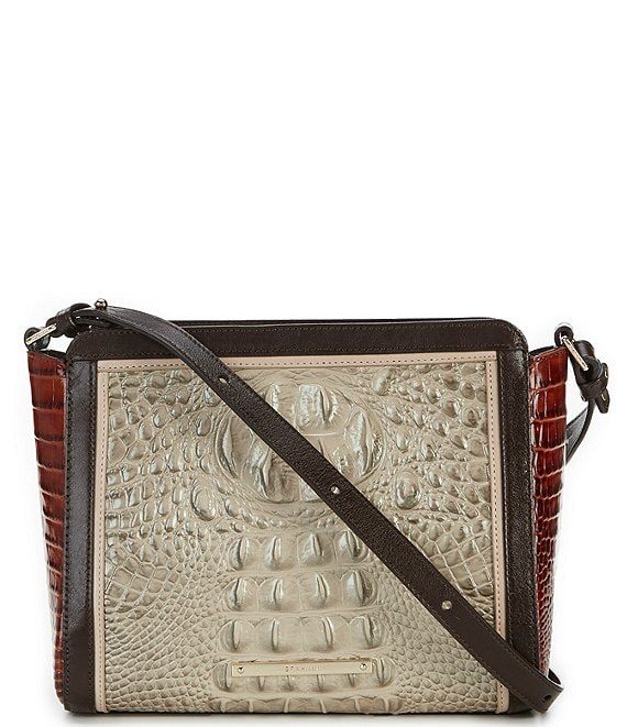 Brahmin Westwood Collection Colorblock Carrie Cross-Body