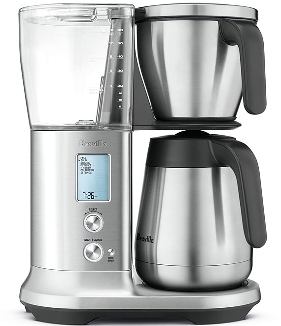 Breville Precision Brewer® Thermal, 6 Settings Brushed Stainless Steel Coffee Maker