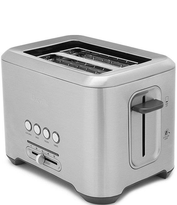 Breville Bit More 2-Slice Extra-Wide and Deep Slot Stainless-Steel Toaster