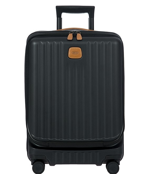 Color:Matte Black - Image 1 - Capri 21#double; Carry-On Spinner with Pocket