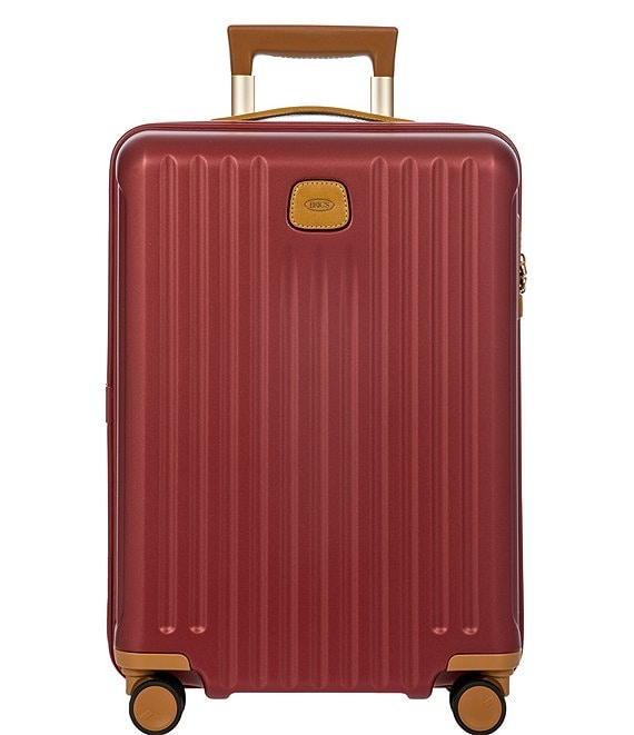 Color:Bordeaux - Image 1 - Capri 21#double; Carry-On Spinner