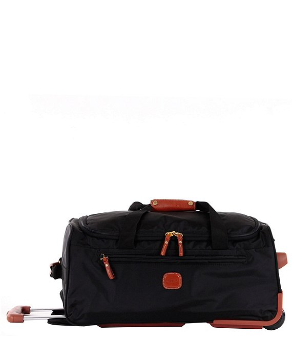 Color:Black - Image 1 - X-Bag 21#double; Carry-On Rolling Duffel Bag