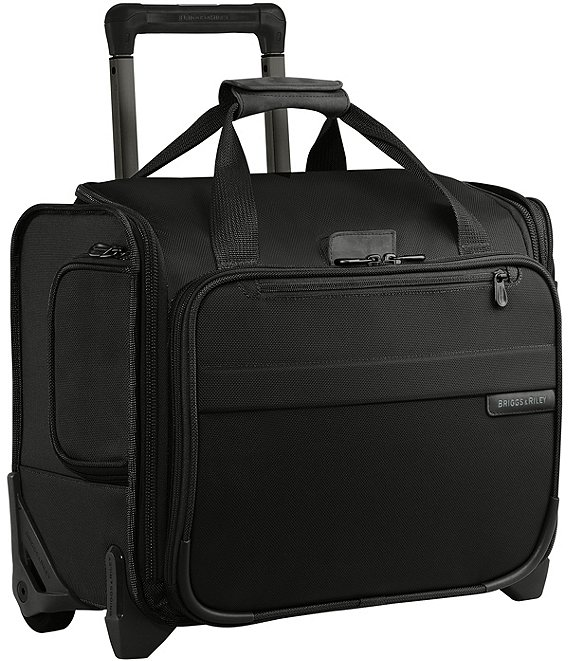 Color:Black - Image 1 - Baseline Carry-On Rolling Cabin Bag