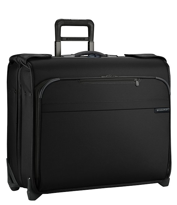 Color:Black - Image 1 - Baseline Deluxe Wheeled Garment Bag