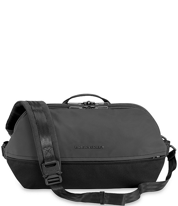 Color:Black - Image 1 - Delve Crossbody Sling Bag