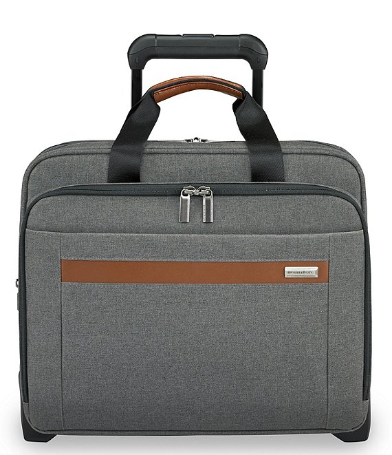 Color:Grey - Image 1 - Kinzie Street Medium Expandable Rolling Briefcase