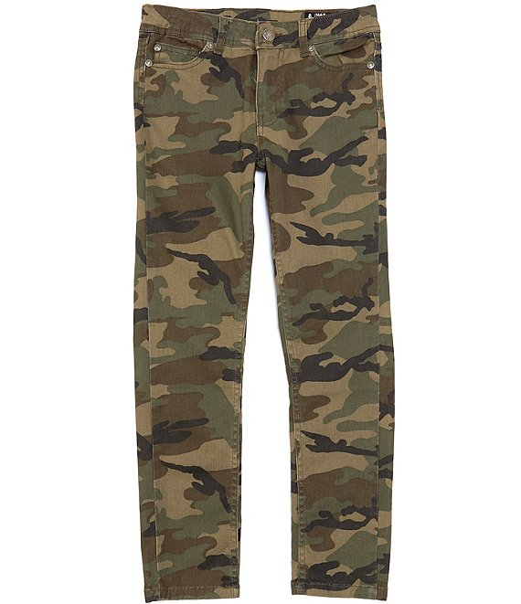 Color:Camouflage - Image 1 - Big Boys 8-20 Camo Twill Chino Pants