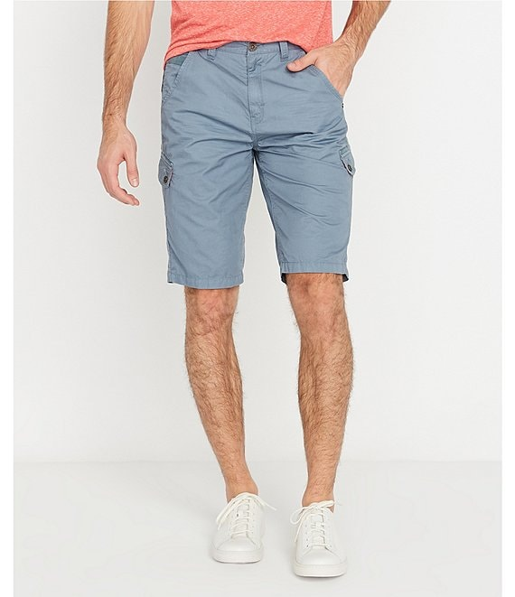 Color:Mirage - Image 1 - Howan 10#double; Inseam Cargo Shorts