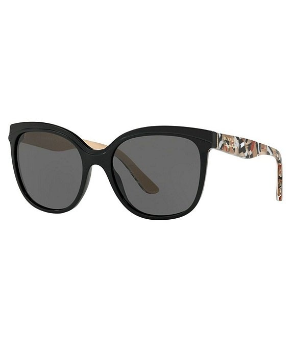 Color:Black - Image 1 - Women's Butterfly Sunglasses