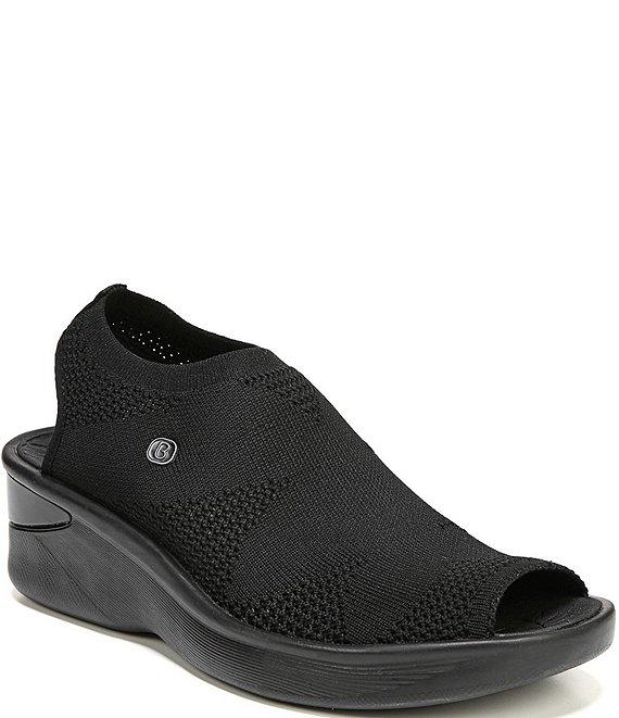 14cba5677e01 Bzees Secret Peep-Toe Fabric Sandals