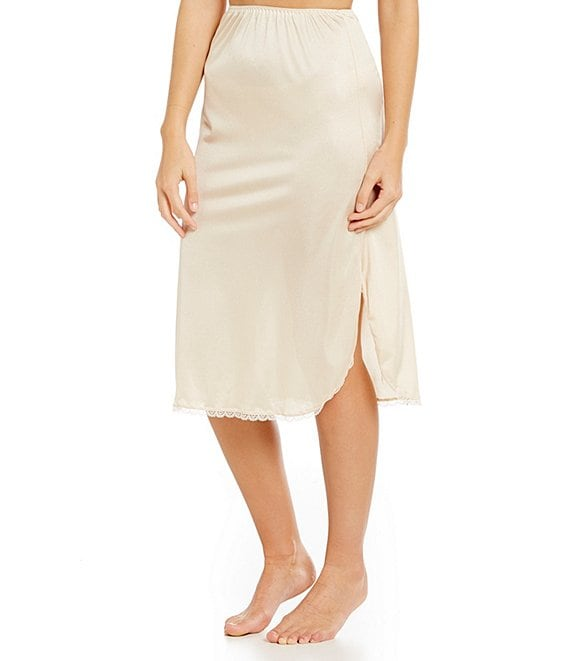 Color:Nude - Image 1 - Tailored 29#double; Half Slip
