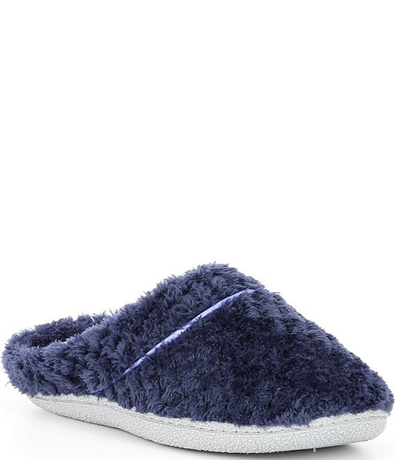 Color:Pea Coat - Image 1 - Textured Terry Clog Slipper