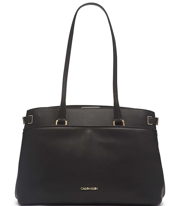 Color:Black/Gold - Image 1 - Avery Tote Bag
