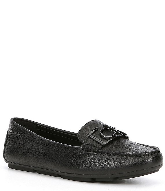 Calvin Klein Ladeca Leather Loafers