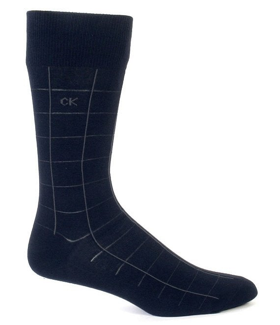 Calvin Klein Patterned Crew Dress Socks 3-Pack