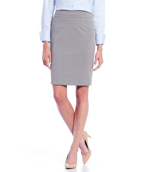 eb823386cfff Calvin Klein Two-Button Suit Jacket   Pencil Skirt