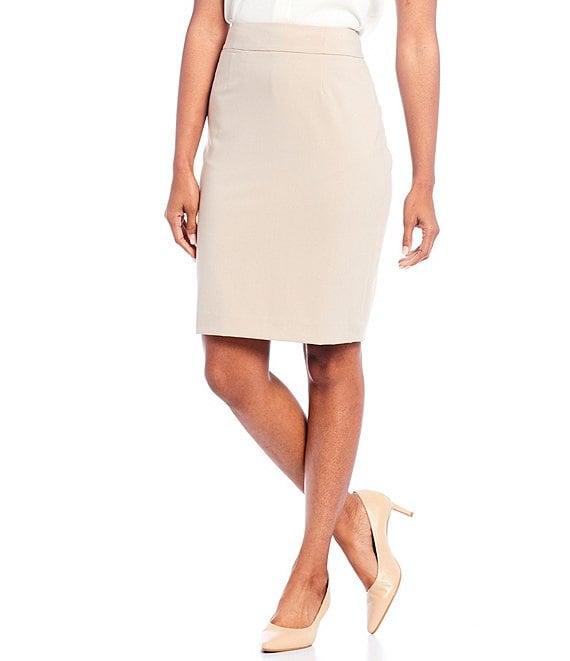 806ed6e9b65 Calvin Klein Petite Pencil Skirt