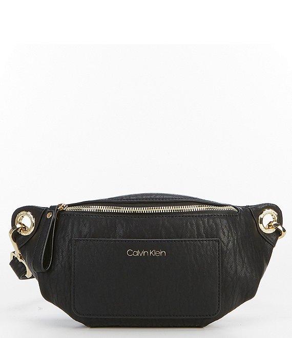 93bc55edac4 Calvin Klein Sonoma Distressed Belt Bag | Dillard's