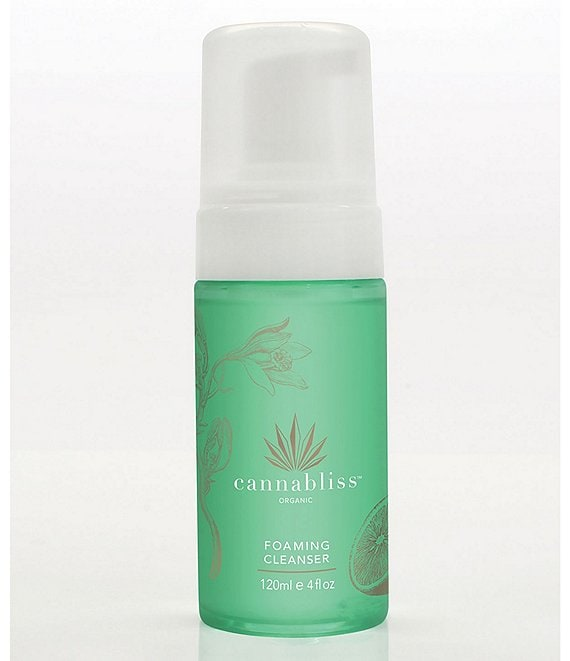 Cannabliss Organics Foaming CBD Cleanser