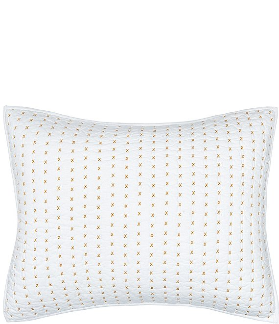 Color:Ochre - Image 1 - Hilton Standard Pillow Sham