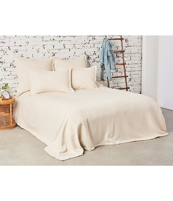 Color:Natural - Image 1 - Monroe Bed Blanket