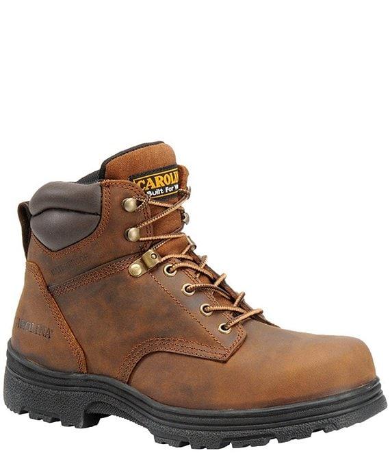 2ad41704643 Carolina Men's Forman 6#double; Waterproof Steel Toe Work Boots