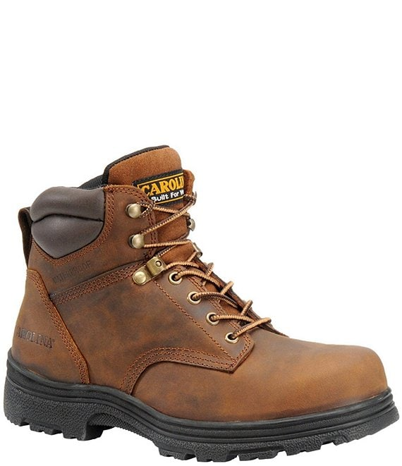 e94e71e2b8c Carolina Men's Forman 6#double; Waterproof Steel Toe Work Boots