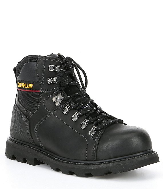 Color:Black - Image 1 - Men's Alaska 2.0 Steel Toe Work Boot