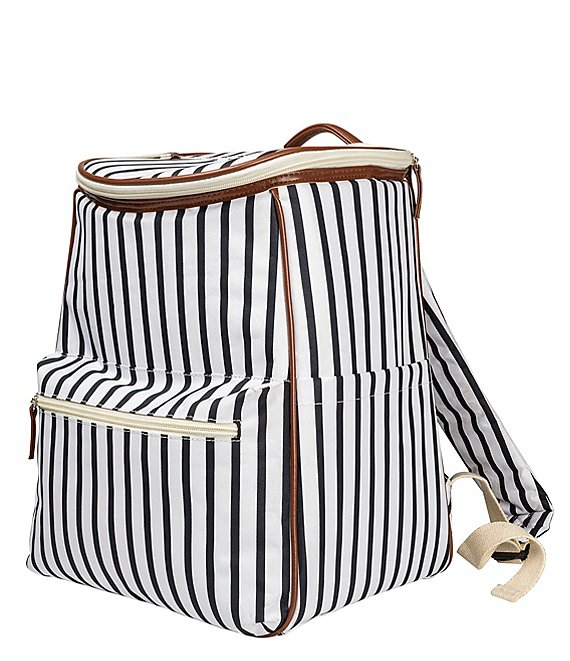 Cathy's Concepts Coolers Personalized Striped Backpack Cooler