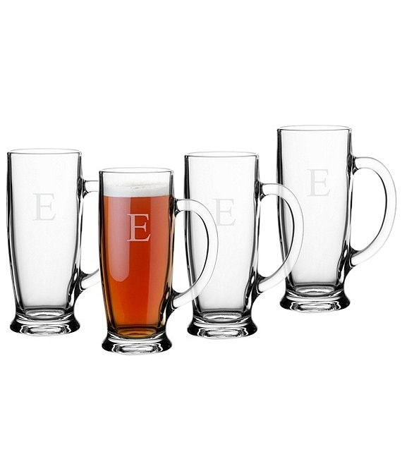 Color:E - Image 1 - Personalized 18 oz. Craft Beer Mugs