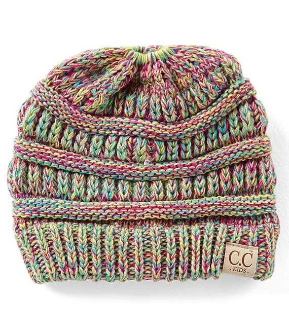 CC Girl Knit Beanie Hat