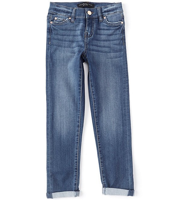 Color:Kester - Image 1 - Big Girls 7-16 Skinny-Fit Stretch Ankle Jeans