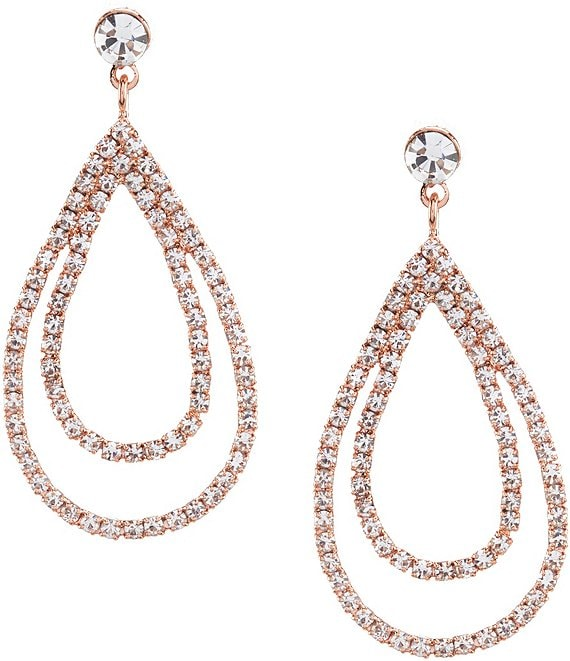 Cezanne Layered Loops Statement Earrings